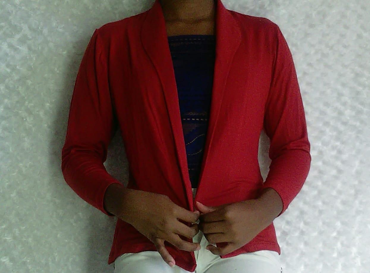 BLAZER, ELEGANTE - INFORMAL, bellas prendas confeccionadas por manos de mujeres emprendedoras colombianas.COLOMBIANO COMPRA COLOMBIANO
